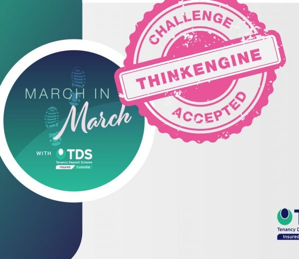 ThinkEngine join Tenancy Deposit Scheme (TDS) with industry charity challenge